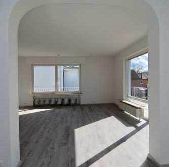 Helle, kernsanierte 3-Zimmerwohnung mit Balkon, EBK und Garage in idyllischer Lage von Plittersdorf