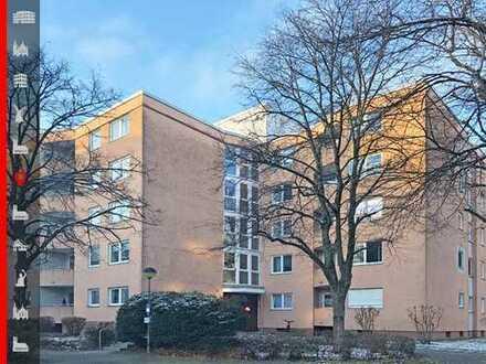 Absolut ruhige 2-Zimmer-Eigentumswohnung im obersten Stockwerk mit sonniger Südwest-Loggia