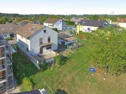Bebaubares Flurstück mit zwei 5-Familienhäuser in Philippsburg-Rheinsheim
