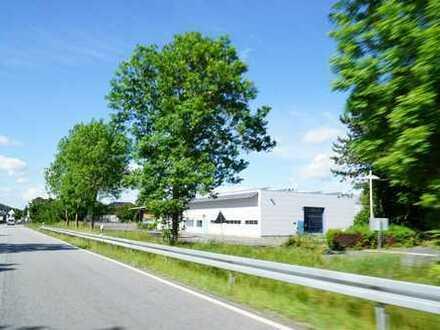 Gewerbeobjekt in Top-Sichtlage, ideal für technischen Großhandel und Service