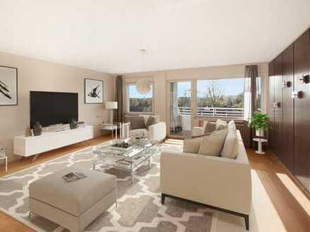 Geräumige Eigentumswohnung mit Balkon und Duplex-Garage