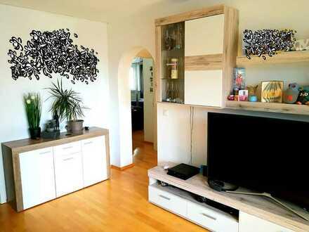 Moderne, helle, 3-Zimmer-Wohnung, 80qm, mit Süd-Balkon, in Weiden in der Oberpfalz