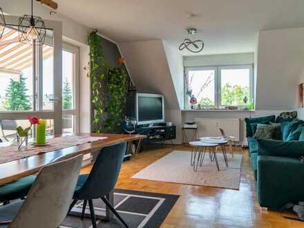3-Zimmer Maisonetten-Wohnung im Herzen von Augsburg