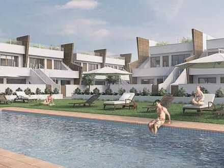 Dachgeschoss-Apartment, sehr modern mit schön angelegten Gemeinschaftsbereichen in Pilar de la Ho...