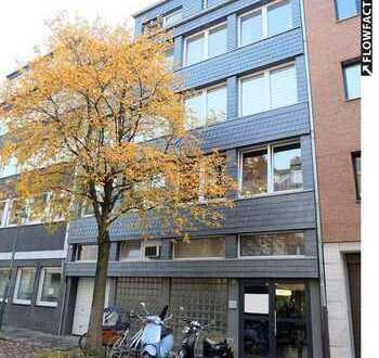 Ideal für Anleger: voll vermietetes Mehrfamilienhaus. Plus Arztpraxis. Zentral in Düsseldorf.