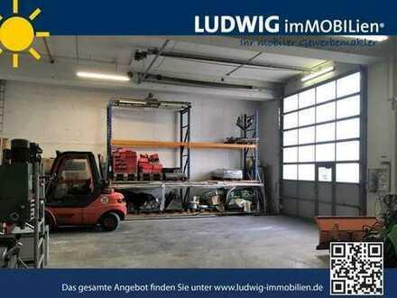 ++ Werkstatt mit kleinem Büro in Flughafennähe ++