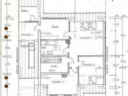Wohnen im Zwei Familienhaus in Königstädten mit Süd Balkon in beruhigter Straße