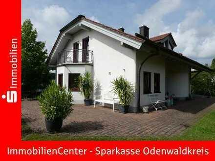 Traumlage, Sonne pur! Top-gepflegtes Einfamilienhaus im herrlichen Odenwald