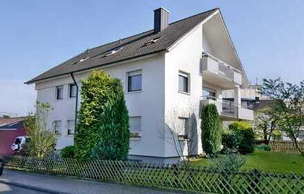 Renovierte 4-Zimmer-Wohnung mit Terrasse in Bruchsal-Heidelsheim