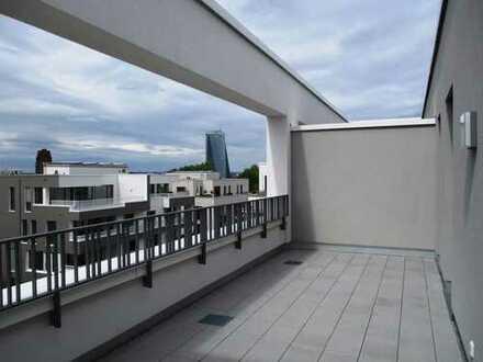 Traum-Neubau-Penthouse in Frankfurt Sachsenhausen - oben angekommen !