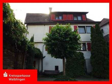 Zweifamilienhaus mittendrin und doch am Rand von Murrhardt in ruhiger Lage