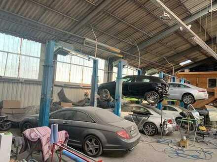 Voll ausgestattete KFZ-Werkstatt in Spandau