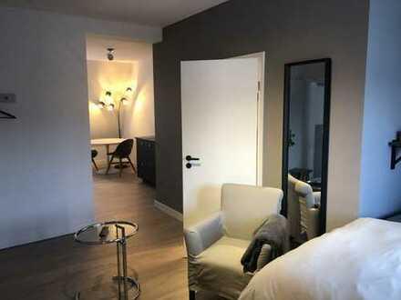 Wunderschönes, komplett ausgestattetes, neu renovierte 1 Zi Appartement Dornbusch, Frankfurt/Main