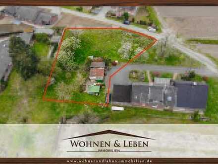 Planen Sie ihr großzügiges Einfamilienhaus auf einem ländlich gelegenen 1.645m² Grundstück zwischen