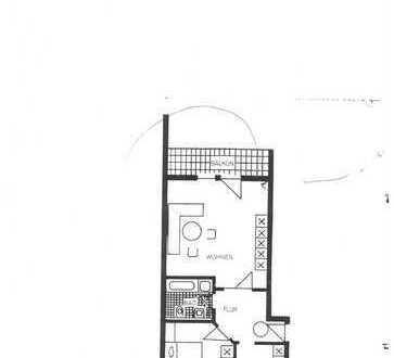 Gepflegte 2-Zimmer-DG-Wohnung mit Balkon und EBK in Weiden-Ost zentrumsnah
