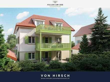 VILLEN AM SEE: 3 Zi EG Wohnung mit eigenem Garten