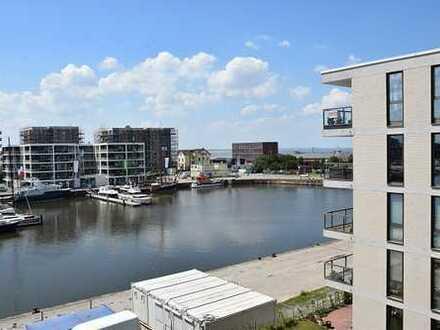 Ausblick wie im Urlaub: 2 Zimmer Wohnung im 6.OG mit direktem Blick aufs Wasser