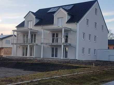 Neubau und Erstbezug: schöne 3,5-Zimmer-Wohnung mit Balkon in Vohburg an der Donau