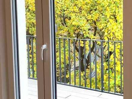 Im Grünen am Blauen. Komfortable Wohnung mit großem Balkon