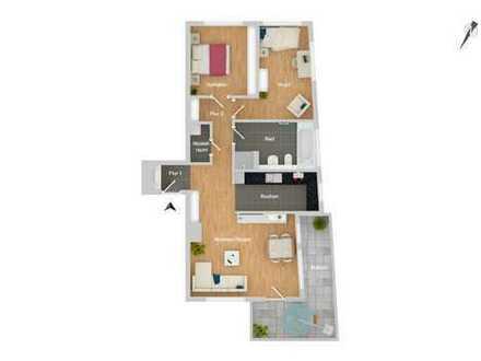 Qualität bis ins kleinste Detail! Hervorragende Wohnung mit idealem Grundriss
