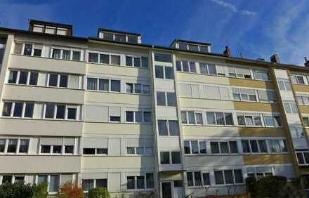Vermietete 3-Zimmerwohnung mit Balkon in zentraler Lage nahe dem Entenfang