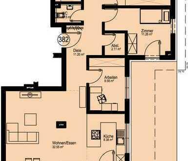NEUBAU 4-Zimmer-Penthousewohnung