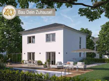 Einziehen und wohlfühlen! Ca. 600m² Grundstück im Schönfelder Hochland