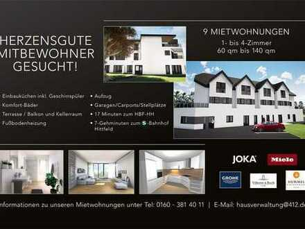 Herzensgute Mitbewohner für 7 Neubauwohnungen in Seevetal - Emmelndorf gesucht