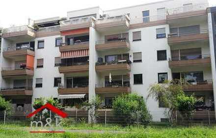 Bad Nauheim Stadt: 3-Zimmer-Wohnung, Hochparterre, Balkon, Aufzug, PKW-Stellplatz