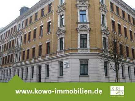Großzügige 2-Zimmer-Wohnung mit Balkon und Laminat in Leipzig - Reudnitz