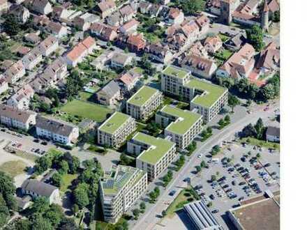 Exklusive 3-Zimmer-Penthouse-Wohnung mit Dachterrasse in Ladenburg zum Erstbezug