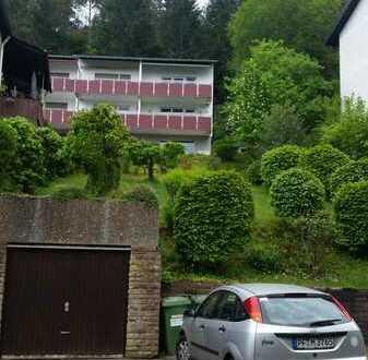 Gepflegte 2-Zimmer-Wohnung mit Balkon und toller Aussicht in Bad Liebenzell