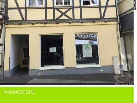 Schöner Laden in der Füßgängerzone von Eschwege