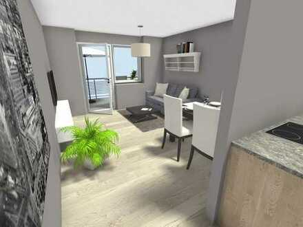 Top-sanierte 2-Raum-Wohnung