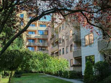 Sicher vermietet: Geräumige 4-Zi-ETW mit Balkon und Stellplatz in Uninähe