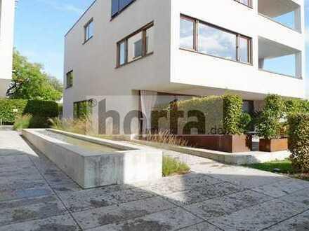 Exklusive 2-Zimmer-Wohnung mit Teilseesicht, TG-Stellplatz in ruhiger Lage von KN-Allmannsdorf