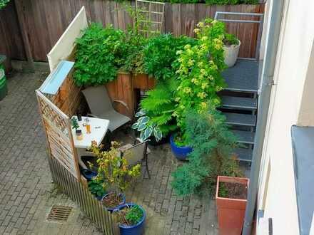 Schöne, gepflegte 2,5-Zimmer-Erdgeschosswohnung mit toller Terrasse