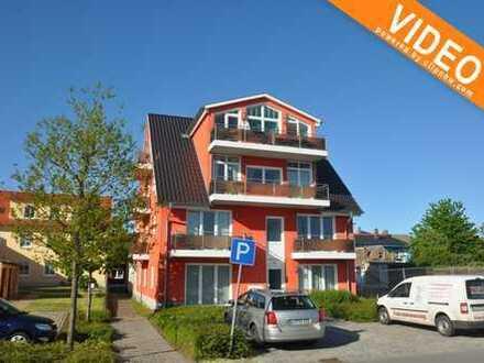 2-Raum-Wohnung in der 2. Etage mit Balkon und Wasserblick