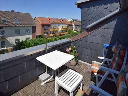 Sehr gepflegte, modernisierte Dachgeschosswohnung