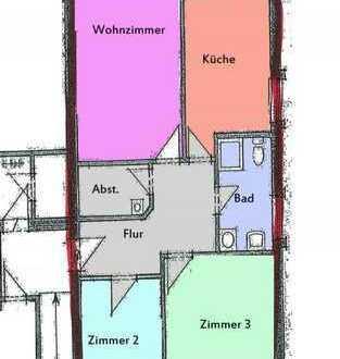 Schöne Wohnung mit Erholungsfaktor
