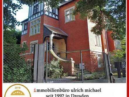 """* Ihr """"EFH"""" im Dach * gr. Dachloggia ~ Fernblick * eigener Garten * am Loschwitzer Elbhang *"""