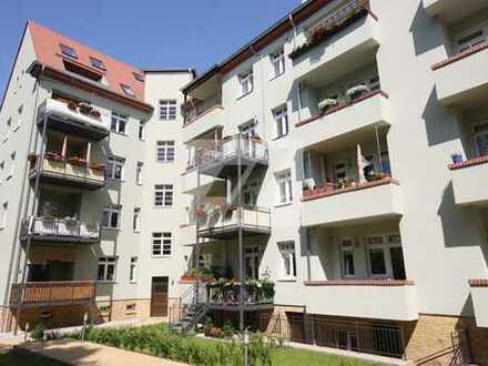 //Top 2 Zimmerwohnung in Gohlis * Parkett * Balkon * modernes Bad//