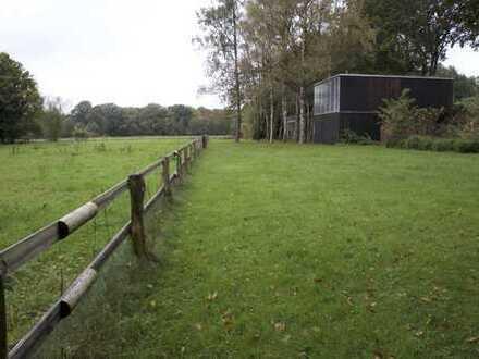 Weitläufige Grundstücke für mehrere Einfamilienhäuser mit großen Gärten
