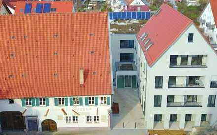Betreute Seniorenwohnung: großzügige 1-Zimmer-Wohnung im 1. OG (Whg. 16)