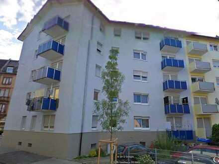 Schöne, sanierte 1 ZKD mit neuer EBK, Balkon in Mannheim/Rheinau, 39qm , € 420,- + NK/HZ