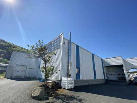Lager-/Produktionshalle mit Büro und Freifläche