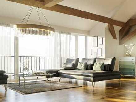 Offenes Wohnen mit einzigartigem Grundriss und Panoramafenster