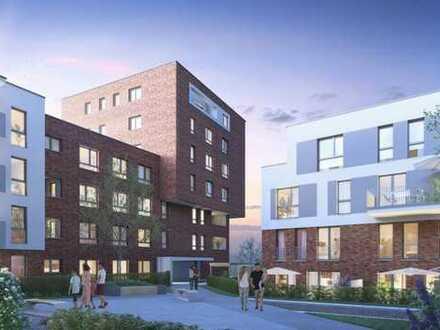 Bahnstadt: 2-Zimmer-Wohnung mit Terrasse und eigenem Garten