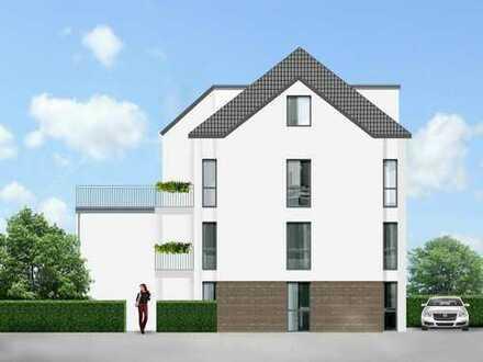 BN-Oberkassel Ortsmitte, 3-Zimmer Neubau-Dachgeschoss-Etw. mit Dachterrasse