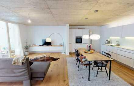 Aachen-Zentrum: Hochwertige 3-Zi.-Wohnung im Maisonette-Schnitt mit Terrasse und Einbauküche
